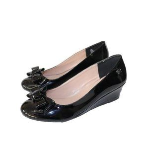 3/$45 - Jessica Simpson Glee Patent Leather Wedges